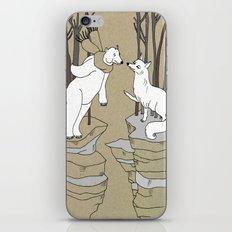 Arctic fox and Polar bear, Romeo and Juliet iPhone & iPod Skin