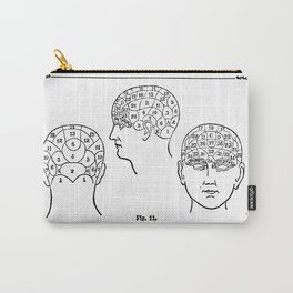 Phrenology Carry-All Pouch