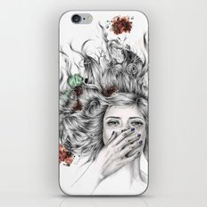 It Overflows iPhone Skin