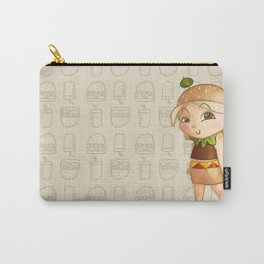 Mini Burger Carry-All Pouch