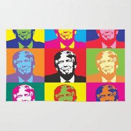 Donald Trump Pop Art Rug