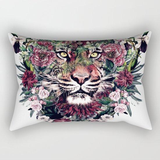Tiger III Rectangular Pillow