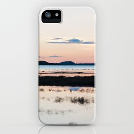 Sunset in Iceland - nature landscape iPhone Case