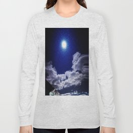 Signs in the Sky Collection I- in its original deep blue Long Sleeve T-shirt