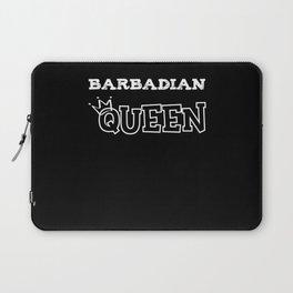 Barbadian Queen Laptop Sleeve