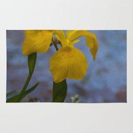Floral Print 019 Rug