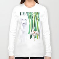 princess mononoke Long Sleeve T-shirts featuring Princess Mononoke by youcoucou