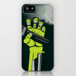 Mic of The Living Dead iPhone Case