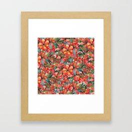 Rouge Bonheur Framed Art Print
