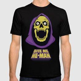 Skeletor - Bite me T-shirt