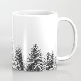 White Snow Forest No1 Coffee Mug