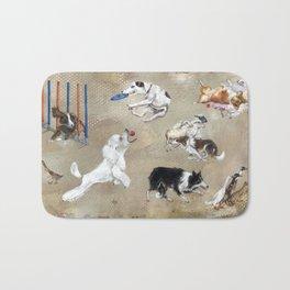 working-dogs Bath Mat