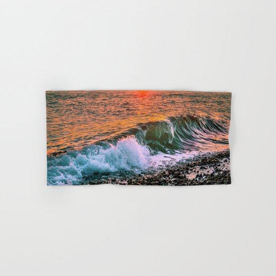 Sunset splash Hand & Bath Towel