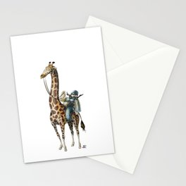 Numero 6 -Cosi che cavalcano Cose - Things that ride Things- Stationery Cards
