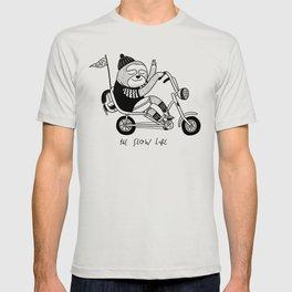 Sloth riding a bike T-shirt