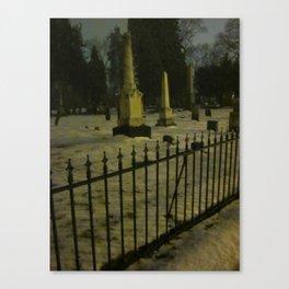 The Cemeteries Of Our Parents Canvas Print