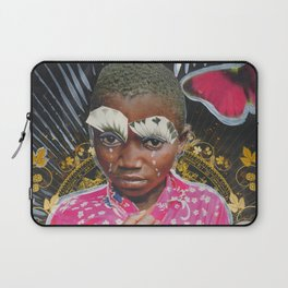 Africa is still crying Laptop Sleeve