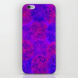 Purple Umbrellas iPhone Skin