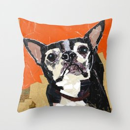 Lucy the Golden Girl Throw Pillow