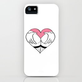 Grab me by my heart iPhone Case