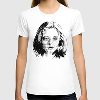 silence of the lambs T-shirts featuring Clarice Starling Sketch - The Silence of the Lambs by Soyarts