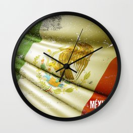 Flag of Mexico Wall Clock