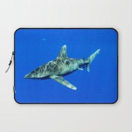 Oceanic Whitetip Shark Laptop Sleeve