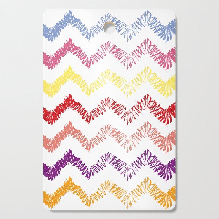 Wonderful Pattern zig zag lines Cutting Board by aram_7 ...
