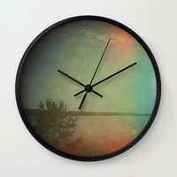 The Land I Wander in My Dreams Wall Clock