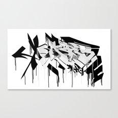 graffiti - AR3 Canvas Print