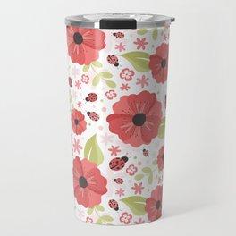Red Spring Travel Mug