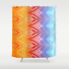 SXYellow Shower Curtain