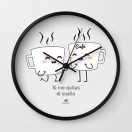 Tu me quitas el sueño Wall Clock