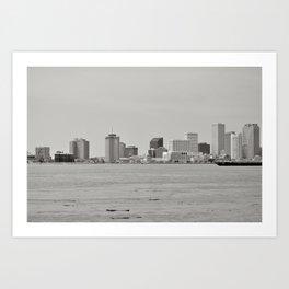 New Orleans Skyline - New Orleans, Louisiana Art Print