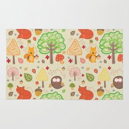 nature for kids Rug