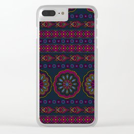 Henna pattern print - Dani Clear iPhone Case