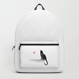 I Love Cats No.4 by Kathy Morton Stanion Backpack