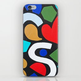 this is balance no. 3 iPhone Skin