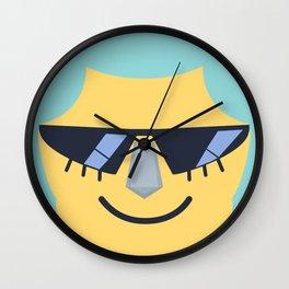 Franky Emoji Design Wall Clock