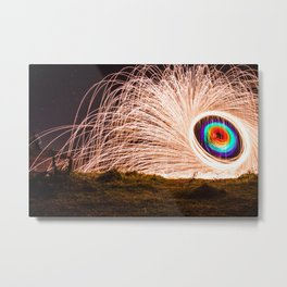 Ring of fire Metal Print