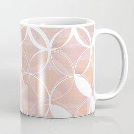 Blush Circle Print Coffee Mug