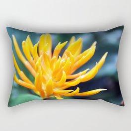 Yellow and Spikey Rectangular Pillow