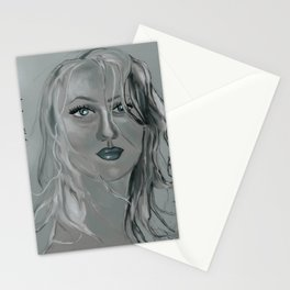wild woman of the woods Stationery Cards