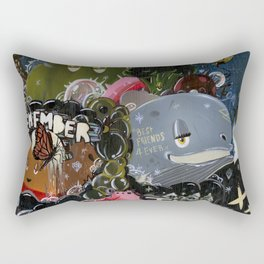 Those Were The Days Rectangular Pillow