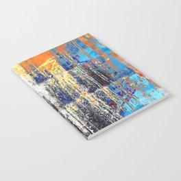 Golden Dawn, Abstract Landscape Art Notebook