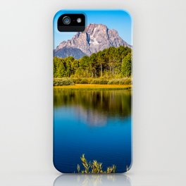 Oxbow Bend - Mt Moran in the Grand Tetons iPhone Case