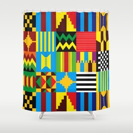 Tribal Patterns Shower Curtain