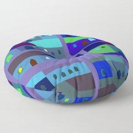 Tepito de Azul Floor Pillow