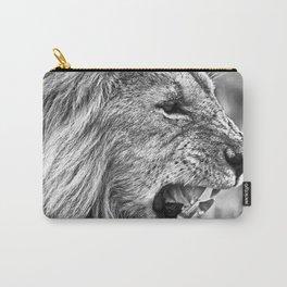 Fierce Lion Carry-All Pouch