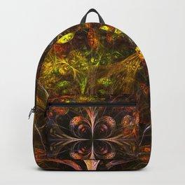 Autumn Forest - Fractal Artwork Backpack